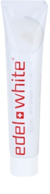 Edel+White Whitening pasta de dinti cu efect de albire anti-placa