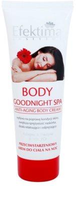 Efektima Institut Body Goodnight Spa testápoló krém a bőr öregedése ellen