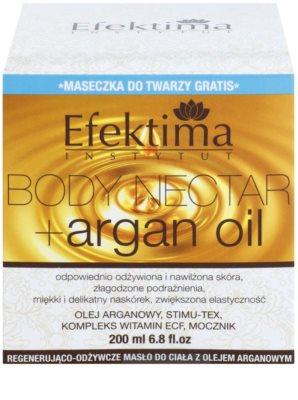 Efektima Institut Body Nectar vyživující tělové máslo s regeneračním účinkem 3