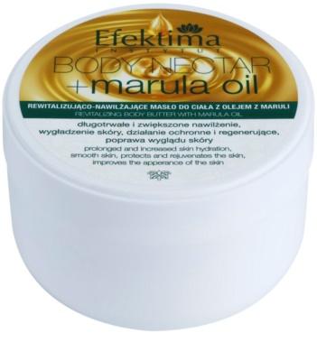 Efektima Institut Body Nectar Rewitalizujące masło do ciała do skóry delikatnej i gładkiej