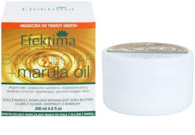 Efektima Institut Body Nectar Rewitalizujące masło do ciała do skóry delikatnej i gładkiej 2
