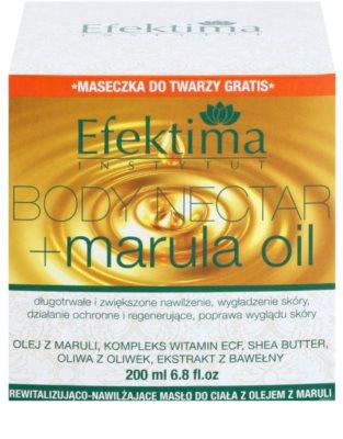 Efektima Institut Body Nectar Rewitalizujące masło do ciała do skóry delikatnej i gładkiej 3