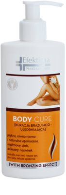 Efektima PharmaCare Body-Cure молочко автозасмага для тіла зі зміцнюючим ефектом