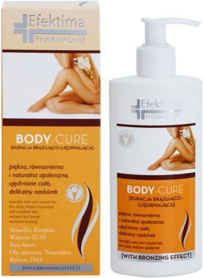 Efektima PharmaCare Body-Cure önbarnító testápoló tej feszesítő hatással 1