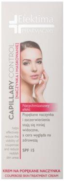 Efektima PharmaCare Capillary-Control lehce zabarvený krém k redukci začervenání a popraskaných žilek 2