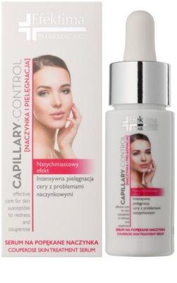 Efektima PharmaCare Capillary-Control сироватка для обличчя для зменшення почервоніння 1