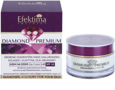 Efektima Institut Diamond Premium +45 Anti-Falten und Regenerationscreme SPF 10 2