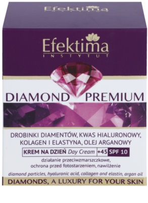 Efektima Institut Diamond Premium +45 regeneracijska krema proti gubam SPF 10 3