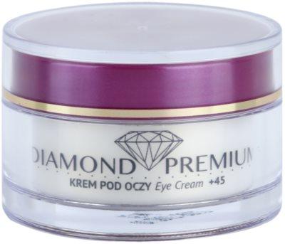 Efektima Institut Diamond Premium +45 crema antiarrugas contorno de ojos antibolsas y antiojeras