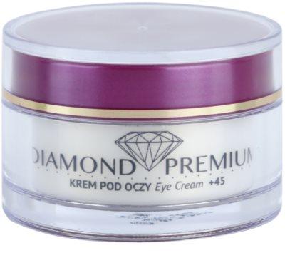 Efektima Institut Diamond Premium +45 crema contur pentru ochi impotriva cearcanelor si ochilor umflati