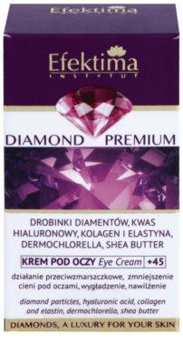 Efektima Institut Diamond Premium +45 oční protivráskový krém proti otokům a tmavým kruhům 3