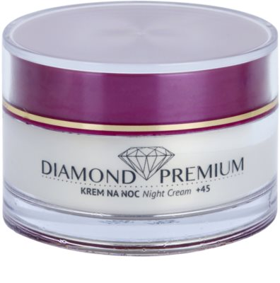 Efektima Institut Diamond Premium +45 regenerierende Nachtcreme mit Antifalten-Effekt
