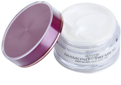 Efektima Institut Diamond Premium +45 нощен регенериращ крем с анти-бръчков ефект 1