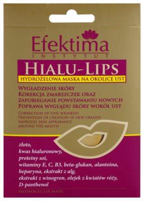 Efektima Institut Hialu-Lips hydrologische Maske für den Lippenbereich mit Verjüngungs-Effekt