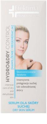 Efektima PharmaCare Hydro&Dry-Control intensives, regenerierendes Serum für trockene Haut 2