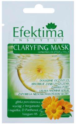 Efektima Institut почистваща маска за редуциране на кожния себум и минимизиране на порите