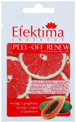Efektima Institut пилинг маска за възобновяване на повърхността на кожата