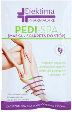 Efektima PharmaCare Pedi-SPA maska pro unavené nohy