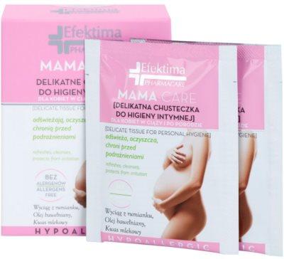Efektima PharmaCare Mama-Care obrúsky na intímnu hygienu