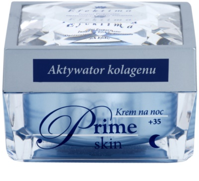 Efektima Institut Prime Skin +35 crema de noche para las primeras señales de envejecimiento de la piel