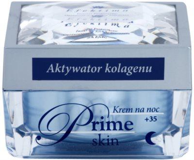 Efektima Institut Prime Skin +35 Nachtcreme gegen die ersten Anzeichen von Hautalterung