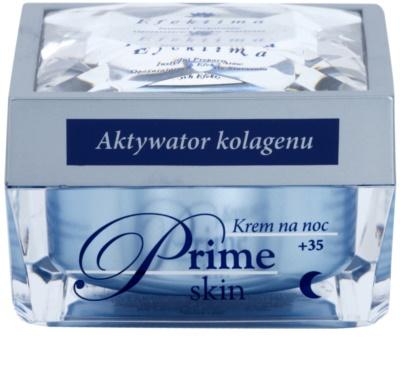 Efektima Institut Prime Skin +35 нощен крем  против първите признаци на стареене на кожата