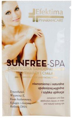 Efektima PharmaCare SunFree-SPA автобронзираща кърпичка