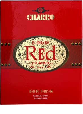 El Charro Red For Woman Eau de Parfum für Damen 4