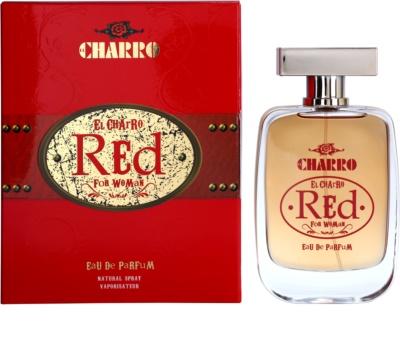 El Charro Red For Woman Eau de Parfum para mulheres