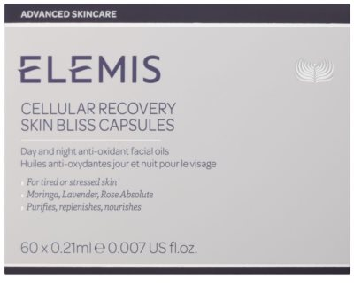 Elemis Advanced Skincare Ulei facial antioxidant pentru zi și noapte in capsule 3
