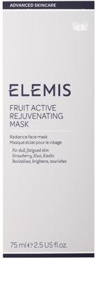 Elemis Advanced Skincare omladzujúca a rozjasňujúca maska pre unavenú pleť 2