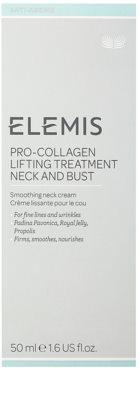 Elemis Anti-Ageing Pro-Collagen verfeinernde Crem für Hals und Dekolleté 2