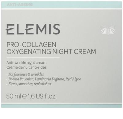 Elemis Anti-Ageing Pro-Collagen crema de noche antiarrugas 2