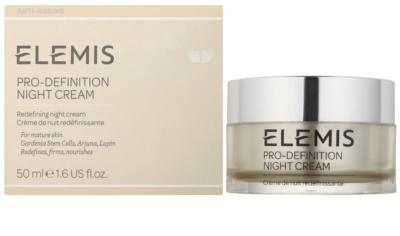Elemis Anti-Ageing Pro-Definition crema reafirmante de noche con efecto lifting para pieles maduras 1