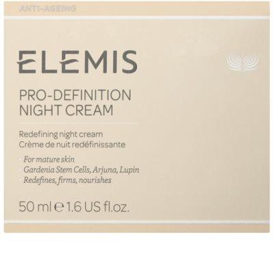 Elemis Anti-Ageing Pro-Definition crema reafirmante de noche con efecto lifting para pieles maduras 2