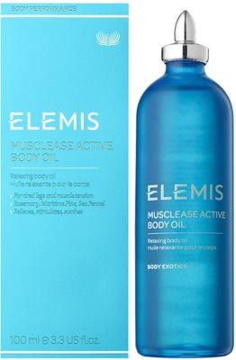 Elemis Body Performance óleo corporal relaxante 1