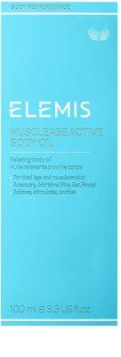 Elemis Body Performance óleo corporal relaxante 2