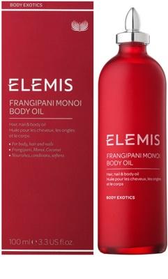 Elemis Body Exotics pečující olej na vlasy, nehty a tělo 1