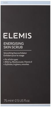 Elemis Men energizujący peeling do twarzy 2