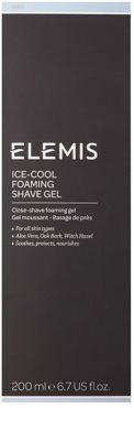 Elemis Men pěnivý gel na holení s chladivým účinkem 3