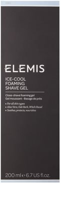 Elemis Men gel de barbear espumoso com efeito resfrescante 3