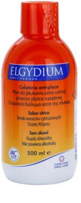 Elgydium Anti-Plaque ústní voda proti zubnímu plaku