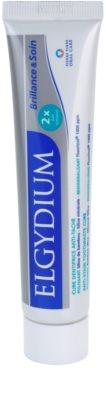 Elgydium Brilliance & Care bleichende Zahnpasta gegen Zahnschmelzflecken