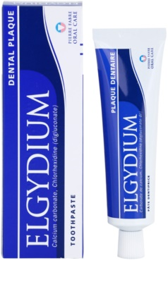 Elgydium Dental Plaque Zahnpasta gegen Plaque 1