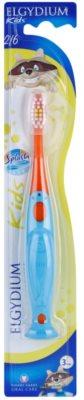 Elgydium Kids escova de dentes para crianças