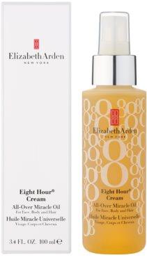 Elizabeth Arden Eight Hour Cream aceite hidratante para cara, cuerpo y cabello 1