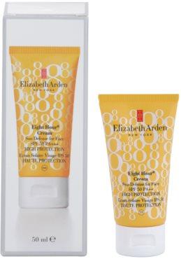 Elizabeth Arden Eight Hour Cream creme solar facial SPF 50 1