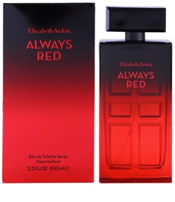 Elizabeth Arden Always Red Eau de Toilette pentru femei