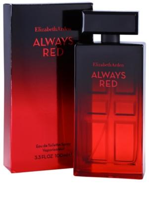 Elizabeth Arden Always Red woda toaletowa dla kobiet 1