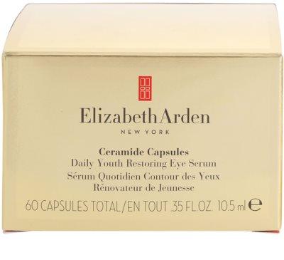 Elizabeth Arden Ceramide sérum de olhos em cápsulas 4